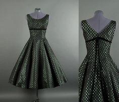 Vintage 1950s Dress / lace party dress / 50s by NodtoModvintage, $140.00