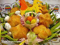 Πασχαλινά αυγά ντεκουπάζ - Γιαγιά Μαίρη Εν Δράσει Pear, Dairy, Cheese, Cookies, Fruit, Food, Crack Crackers, Biscuits, The Fruit