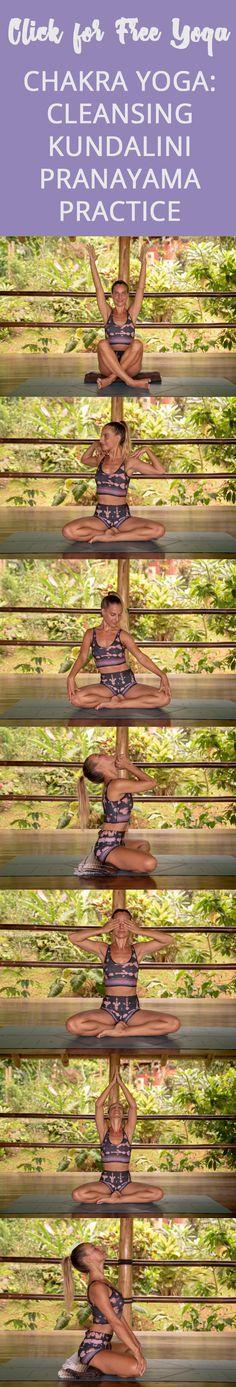 Cleanse & Charge Your Chakras: Kundalini Pranayama Practice - Pin now and join The Journey Junkie! Ashtanga Yoga, Vinyasa Yoga, Kundalini Yoga, Pranayama, Yin Yoga, Yoga Sequences, Yoga Poses, Yoga Inspiration, Bob Marley