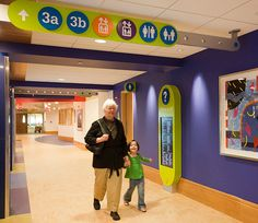 Children's Hospital of Pittsburgh Wayfinding System by ThoughtForm Design, via Flickr