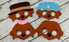 Hey, I found this really awesome Etsy listing at https://www.etsy.com/listing/461455528/berenstain-bear-inspired-masks-felt