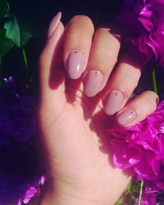 New magic nails for summer  Pretty nude color with lovely triangles .. 😊😍💅..