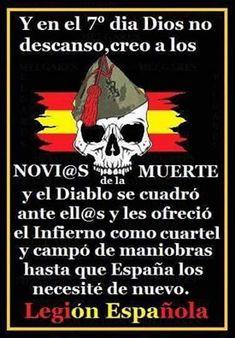 Legión Española.