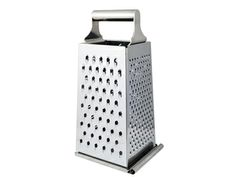Use a cheese grater to whip up biscuits or pie crust.