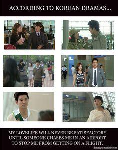 Much drama, very korean, such romantic. But true, every kdrama has a scene like this xd Korean Drama Movies, Korean Dramas, Drama Fever, Drama Drama, Drama Funny, All Meme, Sandara Park, Kdrama Memes, Japanese Drama