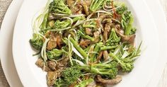 It's good to have a few really quick recipes in the bag so you can always knock up something delicious after work. This easy beef and broccoli stir-fry is also really low calorie so it's a healthy choice aswell.