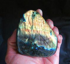 Large Labradorite Base Chakra Healing Stone by BenitoArvizo, $79.00