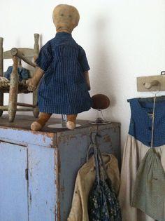 19th c rag doll.