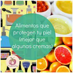 El Cuaderno de Flores-farmacia, nutrición y vida sana: Alimentos que protegen la piel (mejor que algunas ...