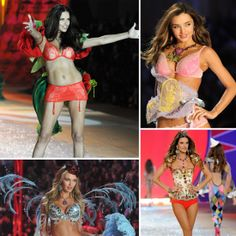 How the Victoria's Secret Angels Get Fashion-Show Ready