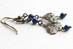 Hey, I found this really awesome Etsy listing at http://www.etsy.com/listing/126070162/blue-lapis-lazuly-earrings-art-nouveau