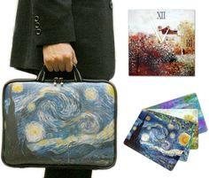 BarewallsKorea Vincent Van Gogh Laptop Bag