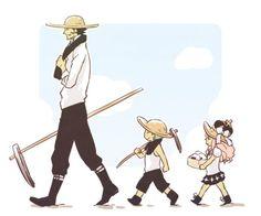 One Piece, Mihawk, Perona, Zoro. I think of them like a family, and ZoroXPerona is one of my Brotp's