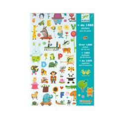 Djeco 1000 Paper Stickers for Little Ones - Toys and Games Ireland Sticker Paper, Stickers, Creative Play, Age 3, Toys For Girls, Phonics, Your Child, Little Ones, Fairy Tales