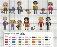 Cross Stitch Family, Dmc Cross Stitch, Cross Stitch Needles, Cross Stitch Baby, Cross Stitching, Cross Stitch Embroidery, Embroidery Patterns, Hand Embroidery, Cross Stitch Designs