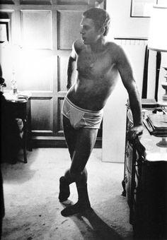 Steve McQueen in his drawers