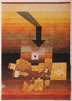 Stricken by Paul Klee