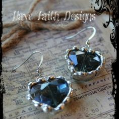 """""""Heart of the Nile"""" earrings by Have Faith Designs"""