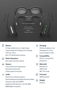 1195c980aa1 Vue is the world s first pair of smart glasses that are designed for  everyday use.