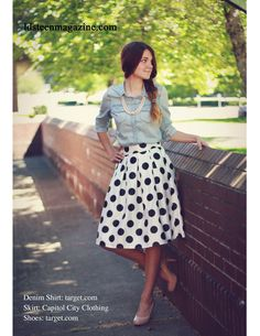Cute outfit from an issue of LDS Teen Magazine! A free magazine for LDS teen girls! ldsteenmagazine.com