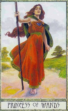 Free Daily Tarotscope — Mar 10, 2015 — Princess of Wands -- Today is a good day to be alive! It's a day for trusting your instincts, pursuing your passions and reveling in the spirit of adventure. The Princess of Wands (the Druid Craft Tarot's version of the Page of Wands) — is all about seizing the moment and embracing your experiences with every fiber of your being. (more)...