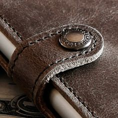 Here you can see the beautiful details that every Secrid wallet has • #Secrid