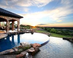 Magnificent view from the Pool - Zbranek & Holt Custom Homes's Design