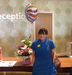 Joyce hits the 20 mark! at Springhill Care Home - Springhill Care Group Lancashire