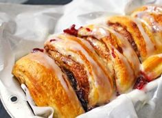 Cranberry Cinnamon Roll Loaf - Kleinworth & Co