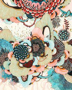 YELLENA JAMES, drawing, doodle