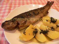 Pstruh po mlynářsku Seafood, Steak, Sea Food, Steaks, Seafood Dishes