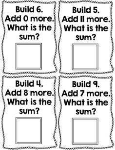 More Math Stations and an Addition Freebie! - TGIF! - Thank God It's First Grade!