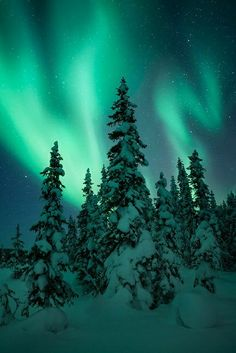 Northern lights. On my bucket list to see this.