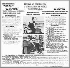 Sailes Louisiana | El Investigador: Bonníe & Clyde. El FBI desclasifica archivos.