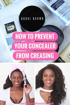 How to Apply Eye Cream and Prevent Concealer from Creasing #RoCSkincare #sponsored