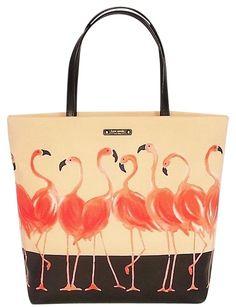 Kate Spade Bon Shopper Take A Walk #Tote in Flamingo. #travel