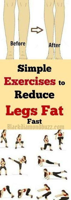 Simple Best Exercises to reduce legs fat and tone inner thighs by malinda