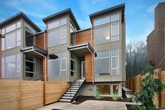 seattle townhome architecture - Google Search