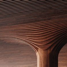 Architland | Zaha Hadid architects working wood