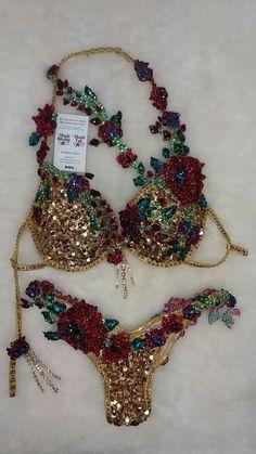 Lingerie Outfits, Pretty Lingerie, Beautiful Lingerie, Sexy Lingerie, Carnival Outfits, Carnival Costumes, Rave Outfits, Fashion Outfits, Wbff Bikini