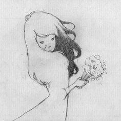 Satoshi Ota aka オオタサトシ (Japanese, b. Yamaguchi, Red Lipsticks, Full Moon, Tokyo, Japanese, Color, Art, Harvest Moon, Art Background