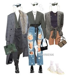 A fashion look from April 2018 featuring blue jeans, cotton skirts and balenciaga sneakers. Browse and shop related looks. 90s Fashion, Daily Fashion, Boho Fashion, Fashion Outfits, Womens Fashion, Polyvore Outfits, Polyvore Fashion, Cool Outfits, Casual Outfits
