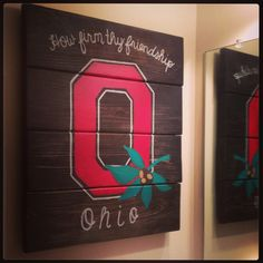 Refinished Barn / Deck Wood. How Firm Thy Friendship. Carmen Ohio. Pallet  Art Part 45