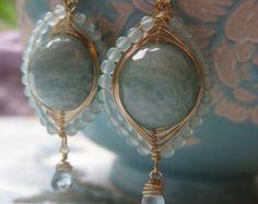 frost Faberge earrings