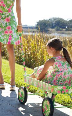 Lilly Pulitzer Spring '13- Freja Dress and Mini Gosling Dress