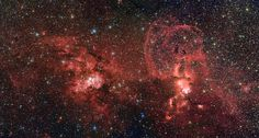 New Photos Highlight One Of Our Galaxy's Grandest Star Factories