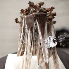 """HOW-TO: """"Constructed Contouring"""" #behindthechair #balayage #hairpainting #haircolor"""