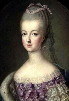 Marie Antoinette age 17