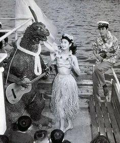 Godzilla takes a day off