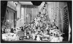 Vintage Eaton's Department store Christmas doll display window